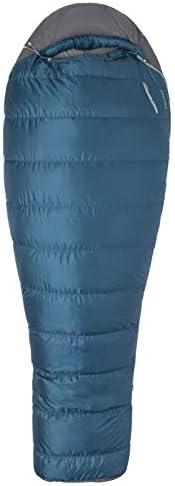 Marmot Ironwood 20 Mummy Lightweight Sleeping Bag, 20-Degree Rating, Denim Steel Onyx
