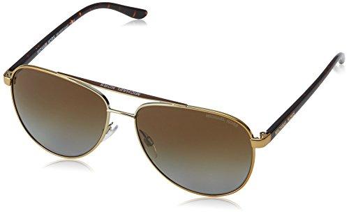 Michael Kors Women MK5007 59 HVAR Tortoise/Brown Sunglasses - Michael Kors Aviator Sunglasses Tortoise