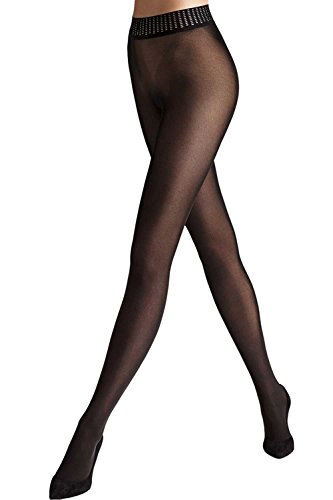 Wolford Fatal 50 Seamless Tights-Black-Large
