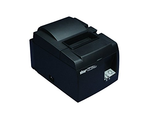 Star Micronics futurePRNT TSP143IIILAN GY US Direct Thermal Printer - Monochrome - Desktop - Receipt Print by Star Micronics