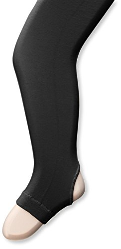 Capezio Hold & Stretch Stirrup Tight - Girls - Size Child Small, Black