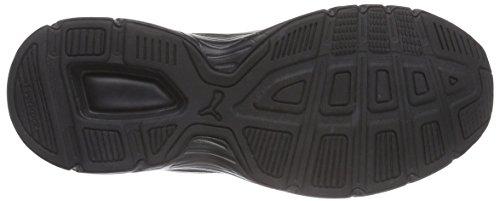 Puma Axis V3 Sd, Baskets Basses mixte adulte Noir - Noir (noir/blanc 01)