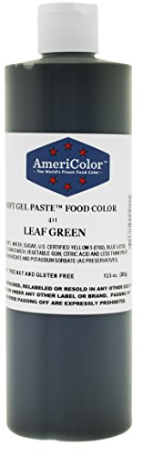 Americolor Soft Gel Paste Food Color, 13.5-Ounce, Leaf Green ()
