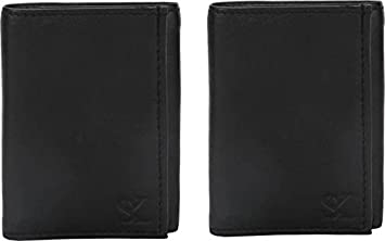 Styler King Men Black Genuine Leather Wallet nbsp; nbsp; 10 Card Slots  Combo Men's Wallets