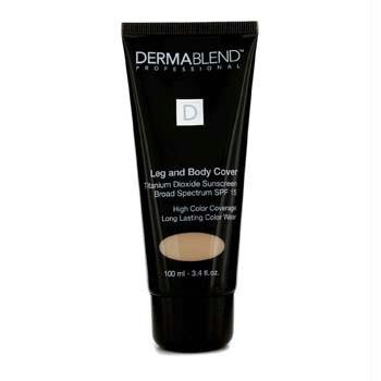 Dermablend Leg et Body Cover Maquillage FPS 15, Crème, 3,4 once
