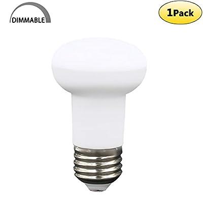 7 Watt Dimmable R16 LED Bulb(65 Watt Equivalent),E26 Medium base 120 Volt 700 Lumens 2700K Warm White Glow BR16 LED Reflector Light Bulb 120 Degree Wide Flood Light Bulb