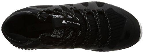 adidas Women's Crazytrain Pro-Mid Fitness Shoes, Black Black (Negbas / Negbas / Ftwbla)
