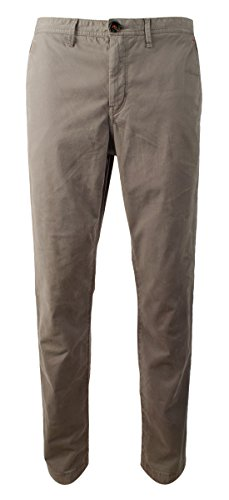 Michael Kors Men's Garment Dyed Slim Fit Flat Front Chino Pants-S-36Wx30L
