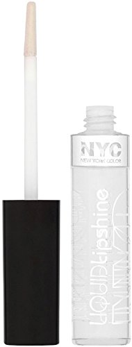 New York Color Liquid Lip Shine, City s Clear 0.24 oz Pack of 3