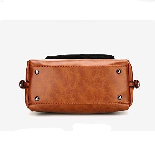 Wax Single Woman Women Shoulder A Bag Bag Hongge Female Hundred Oil Bag PU Handbag Fashion gFvqTXx0T