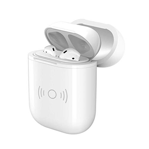 QI Wireless Protective Case Cover Compatible with AirPods Charging Case, Protective Case Covers and Skin with Wireless Charging Compatible for AirPods Charging Case