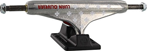 アイロニー懐疑的ビヨンIndependent Luan OlivieraシルバーブラックSkateboard Trucks – 149 Mmハンガー8.5