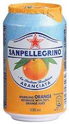 アランチャータ (オレンジ) 330ml缶×24本入×(2ケース)