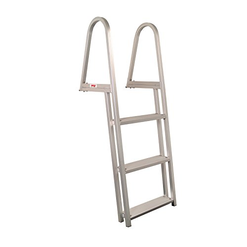 Extreme Max 3005.3377 3-Step Pontoon/Dock Ladder (3 Step Dock Ladder)