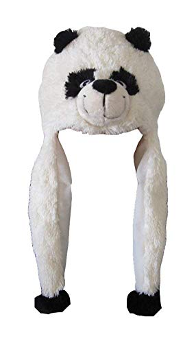 ZooPurrPets Unisex Plush Animal Hats with Poms