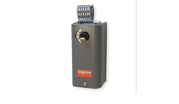 1UHH4 Gray DAYTON Line Voltage Control,Cool,Analog
