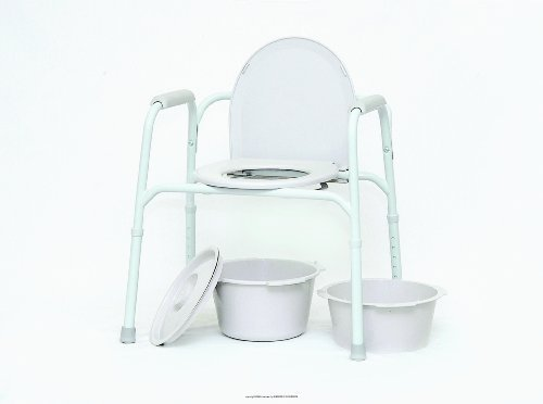 Deluxe All In One Commode - 6