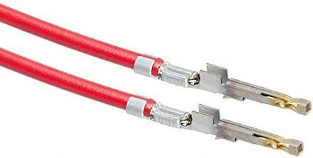 Pack of 100 1722533011-04-R7-D 4 PRE-CRIMP 1858//19 RED