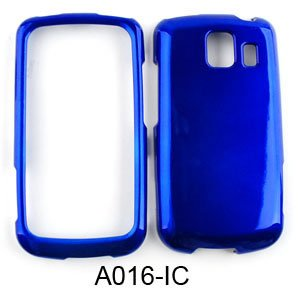Lg Blue Phone Faceplates (LG Vortex VS660 Honey Blue Hard Case/Cover/Faceplate/Snap On/Housing/Protector)