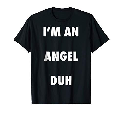 Easy Halloween Angel Costume Shirt for Men Women -