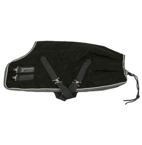 Rambo Stable Blanket Medium 200g Black/Gray 81 HORSEWARE PRODUCTS LTD