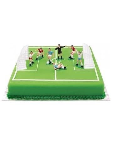 80706937c04 Decora 0816010 - Set de fútbol con 7 jugadores de 4.2 a 5 H y 2