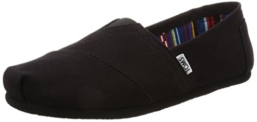 - TOMS Women's Classics Flat, Black, 5 B - Medium