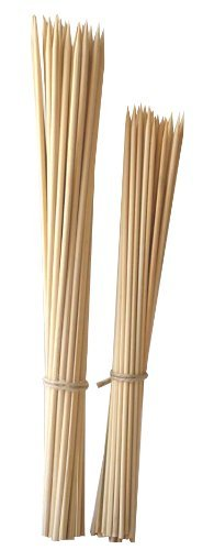 Set 200 Bamboo Skewers Appetizers