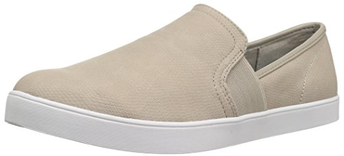 Dr. Scholl's Shoes Women's Luna Sneaker, Simple Taupe Lizard Print, 7