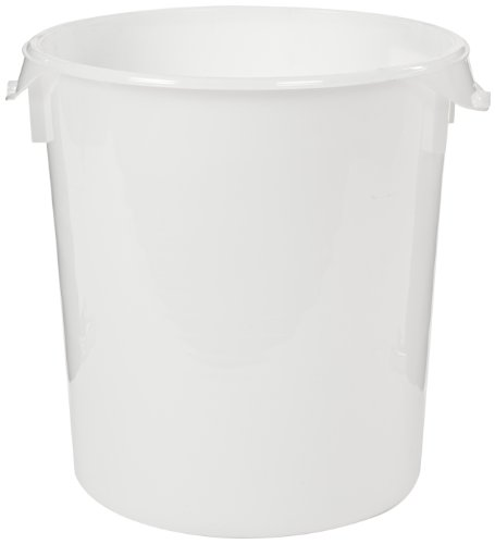 Rubbermaid Commercial Products FG572700WHT 18-Quart Round Storage Container