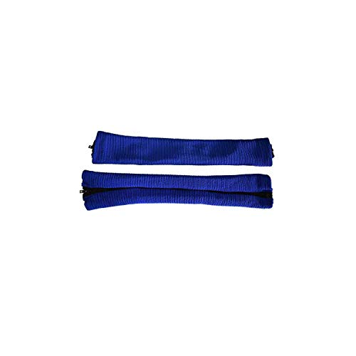 2Pc Solid Color Elastic Armrest Cover for Office Computer Chair Cover Stripe Arm Rest Cover Armrest Computer Chair Cover,Blue,S