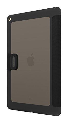 Incipio iPad Pro Case - [Clarion] iPad Pro Ultra-Thin Slim Fit with Translucent Folio Fold Rigid Over Closure Shock-Absorbing Cover - Black