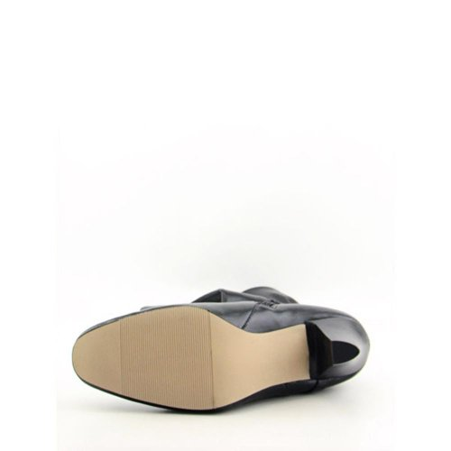 Karen Scott Cassidy Kvinna Storlek 5 Svart Mode Knähöga Stövlar
