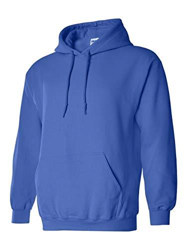 Gildan G18500 Heavy Blend Adult Hooded Sweatshirt - 2X-Large - Royal