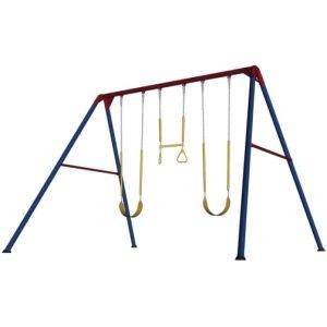 Lifetime 90200 Heavy Duty A-Frame Metal Swing Set, Primary -