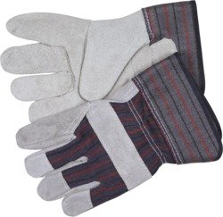 Memphis - Leather Palm Gloves, Economy Shoulder Cowhide Leather, Size Medium (Pack of 1)