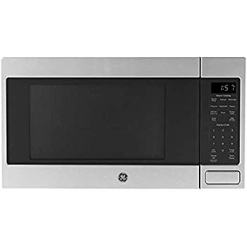 Amazon Com Ge Jes1657smss 1 6 Cu Ft Stainless Steel