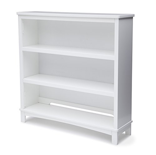 Delta Children Classic Bookcase / Hutch For Books and Toys, White by Delta Children