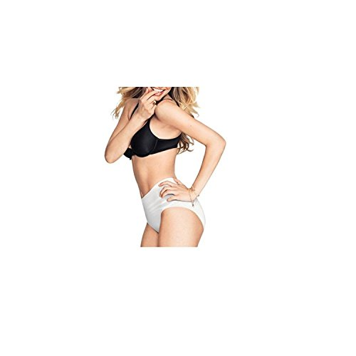 Maidenform 83006 Sweet Nothings Everyday Shaping Brief (Medium, White) Control Everyday Smoothing Brief