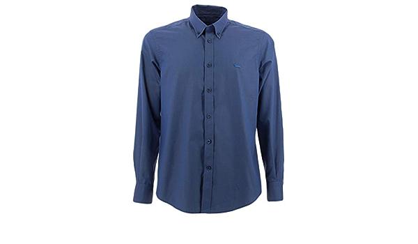 Harmont&Blaine - Camisa, color azul: Amazon.es: Ropa