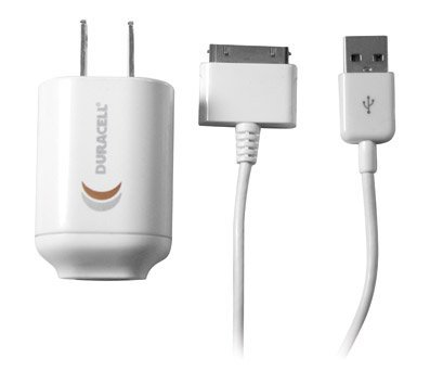 Duracell Laptop Adapter - Duracell Mini Usb Ac Charger for Use with Ipad, Ipod, Iphone Devices