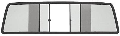 Laurence TSW1813S CRL Duo-Vent Four Panel Slider with Solar Glass for 1963-1978 International Travel All Cab C.R