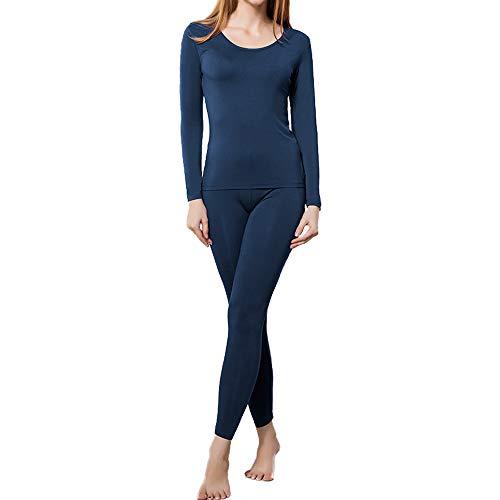 HEROBIKER Thermal Underwear Women Ultra-Soft Set Base Layer Top & Bottom Long...