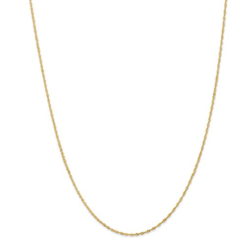 (14k Yellow Gold 1.10mm Link Singapore Chain Necklace 24 Inch Pendant Charm Fine Jewelry Gifts For Women For)