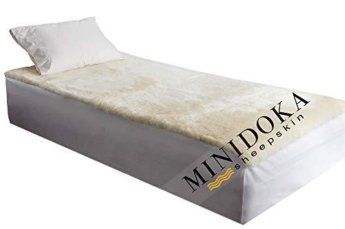 Desert Breeze Distributing Minidoka Sheepskin Medical Underlay, Twin Size Half Queen 79