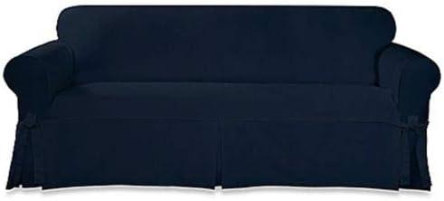 Sure Fit Designer Twill  SOFA slipcover GRAY COLOR slip cover