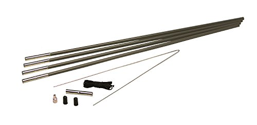 Texsport 3/8-Inch Tent Pole Replacement Kit (Section Pole Replacement)