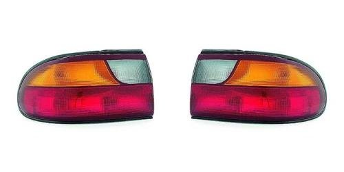 (Go-Parts PAIR/SET OE Replacement for 1997-2003 Chevrolet (Chevy) Malibu Rear Tail Lights Lamps Assemblies/Lens / Cover - Left & Right (Driver & Passenger) for Chevrolet Malibu)
