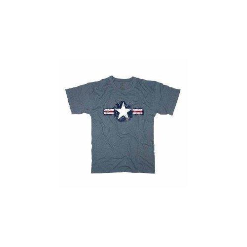 Rothco Vintage Army Air Corp Blue T-Shirt 66500 XL Army Air Corp Blue T-shirt