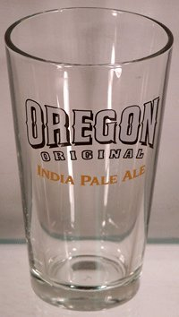 Oregon Original India Pale Ale Glassware - Set of Pint Glasses (Sam Adams Ale Boston)